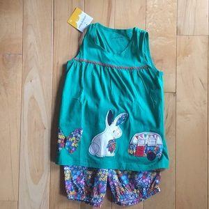 Jumping beans Matching shirt and shorts